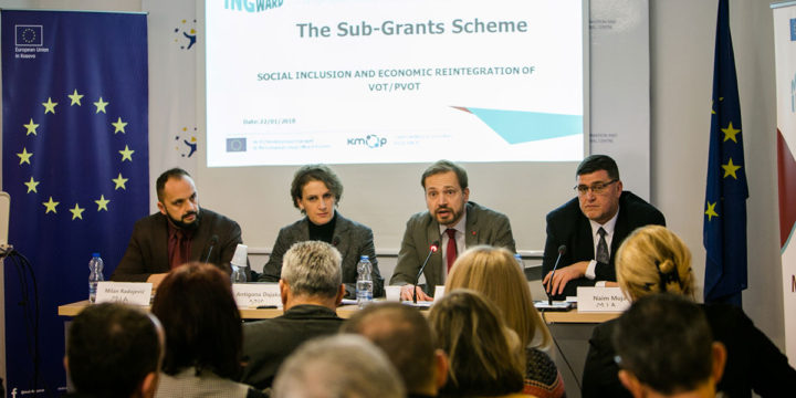 Launch event for the Sub-Grants Scheme