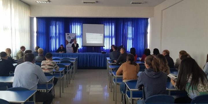 PRESENTATIONS HELD FOR STUDENTS ACROSS KOSOVO ON RISKS FROM TRAFFICKING