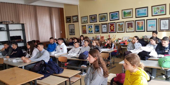 """Sesion vetëdijësues në shkollën e mesme të Mitrovicës """"Frang Bardhi"""""""